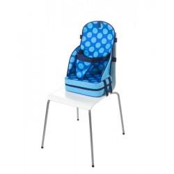 Przenośny Fotelik dla Dziecka z Neoprenu (Niebieski w Kropki) - Quaranta Settimane
