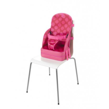 Przenośny Fotelik dla Dziecka z Neoprenu (Różowy w Kropki) - Quaranta Settimane