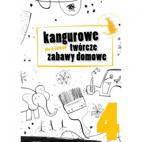 Kangurowe twórcze zabawy domowe dla 4 latków