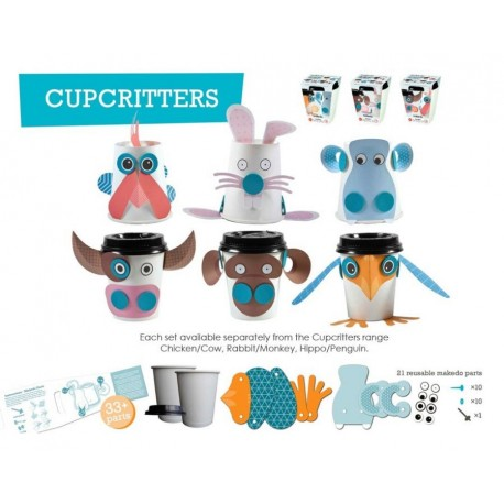 Kubek Stwórz Zwierzaka CupCritters Makedo