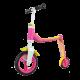 Highwaybuddy 2w1 hulajnoga i rowerek 1+ Pink - Scootandride